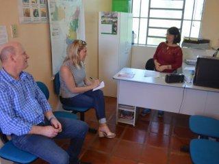 Prefeito e Secretária de Saúde vistoriam Unidade de Saúde de São José da Glória
