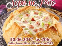 4º Jantar Dançante Sopa no Pão será realizado em junho