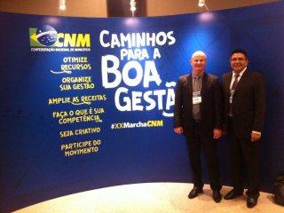 Prefeito Alflen participou da XX Marcha dos Prefeitos a Brasília