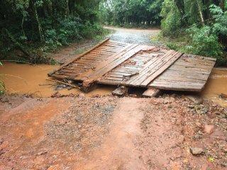 Fortes chuvas geram transtornos à comunidade Victorense