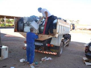 Prefeitura realiza campanha de coleta de lixo eletrônico