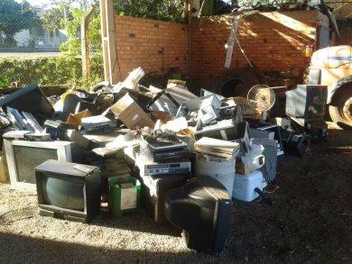 Campanha coleta mais de duas toneladas de lixo eletrônico