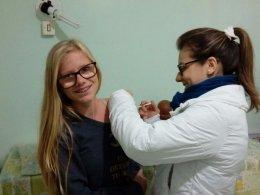 Victor Graeff encerra vacinação contra a gripe