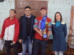 Conhecidos os campeões do municipal de Bocha de Victor Graeff