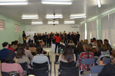 Município sedia encontro de Secretários Municipais de Educação, Membros dos Conselhos Municipais de Educação e Diretores de Cultura da Associação dos Municípios do Alto Jacuí – AMAJA.