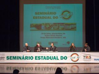 Prefeito Alflen participa do Seminário Estadual do SUSAF-RS