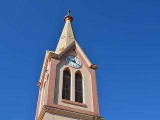 Relógio da torre da Igreja Evangélica volta a funcionar