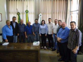 Prefeito recebe a visita do Deputado Federal Afonso Motta