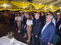 Autoridades prestigiaram a abertura da 11ª Expovig