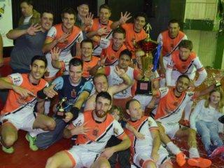 Conhecidos os campeões do Campeonato Municipal de Futsal e Vôlei