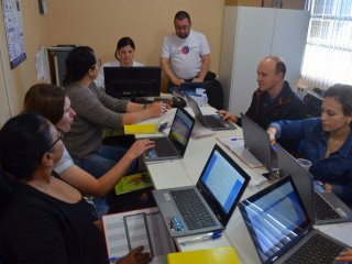 Agentes Municipais de Saúde recebem treinamento para operar os sistemas do Redesus