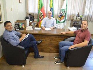 Prefeito Alflen reassume o Executivo Municipal