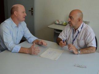 Prefeito Alflen participou de reunião no DNIT de Cruz Alta