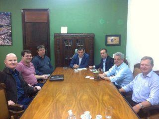 Alflen visita a Secretaria Estadual da Agricultura, Pecuária e Irrigação