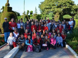 Estudantes da EMEF Alfredo Brenner de Ibirubá visitam a Mais Bela Praça
