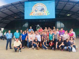 Victorenses participaram da Expoclara – Exposição de gado leiteiro da Serra Gaúcha