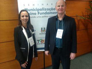 Victor Graeff presente em seminário sobre a Municipalização do Ensino Fundamental
