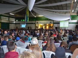 Victor Graeff presente no evento: Sustentabilidade. Eu Curto! da Cooperativa Cotrisoja