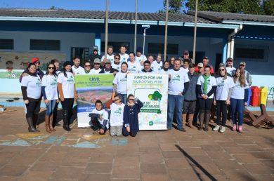 EMEF Marcílio Dias recebe melhorias em ação voluntária da empresa CRVR