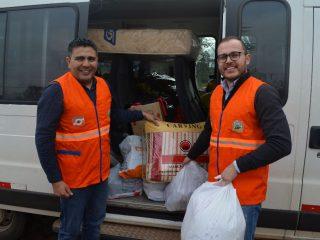Encaminhadas as doações para os atingidos pelos temporais na região Norte