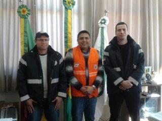 Coordenadores regionais de Defesa Civil visitam Victor Graeff