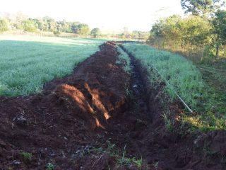 Secretaria de Agricultura atua na construção de redes de água