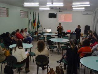 Docentes participaram de formação do PNAIC