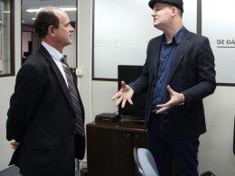 Municipalidade é tema de encontro entre Prefeito Alfen e presidente da Famurs
