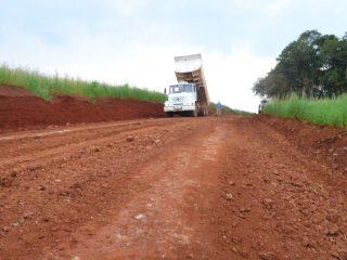 Secretaria de Obras recuperou vias em São José da Glória
