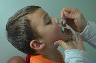 Prorrogada a campanha contra pólio e sarampo
