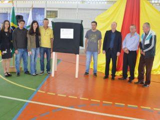 Inaugurada a Quadra Esportiva Coberta – Lorena de Fátima Barth