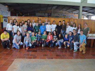 EMEF Marcílio Dias realizou encontro de integração de cooperativas escolares
