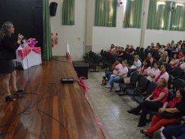 Palestra abordou a prevenção ao câncer de mama