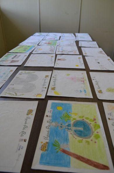 Estudantes de Victor Graeff produziram desenhos sobre o turismo no município
