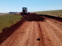 Secretaria de Obras recuperou vias em Barro Preto