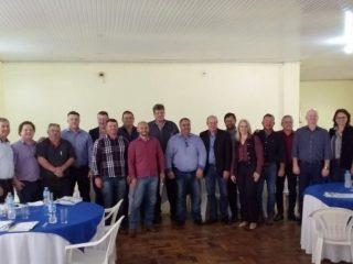 Prefeito Alflen participou de reunião do Comaja