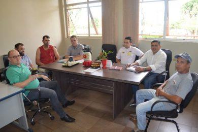 Reunião discutiu projeto elétrico da Coprel para o Distrito Industrial