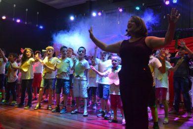 Natal foi celebrado nas escolas municipais