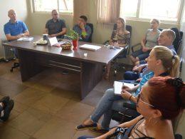 Reunião entre COMDICA e Executivo