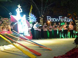 Show Natal Mágico encantou o público