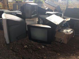 Victor Graeff realizou campanha de coleta de lixo eletrônico e óleo de cozinha