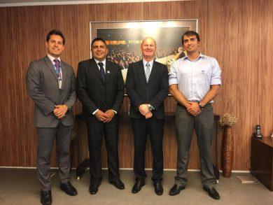 Prefeito Alflen cumpriu agenda em Brasília
