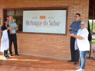 Inaugurado o Quiosque do Sabor