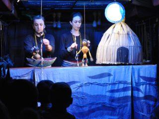 """Projeto Buzum trouxe o espetáculo """"Curumim"""" a Victor Graeff"""
