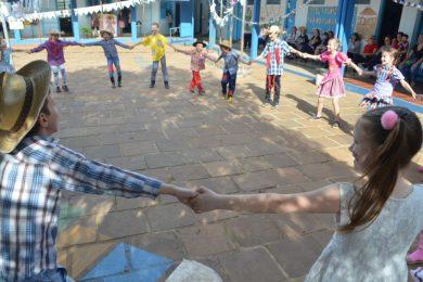 Festas juninas da rede municipal de educação