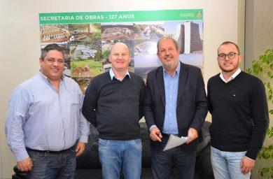 Alflen cumpriu agenda em Porto Alegre