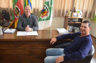 Prefeito discutiu possibilidade de emendas com Presidente do Legislativo