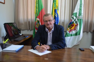 Gilmar Appelt assume o Executivo Municipal