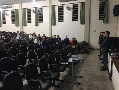 Reunião discutiu contribuição de melhoria