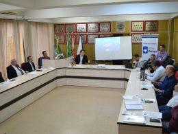 Prefeito Cláudio Alflen participa de reunião da Amaja em Colorado